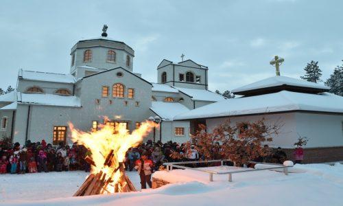 Рождество в Сербии